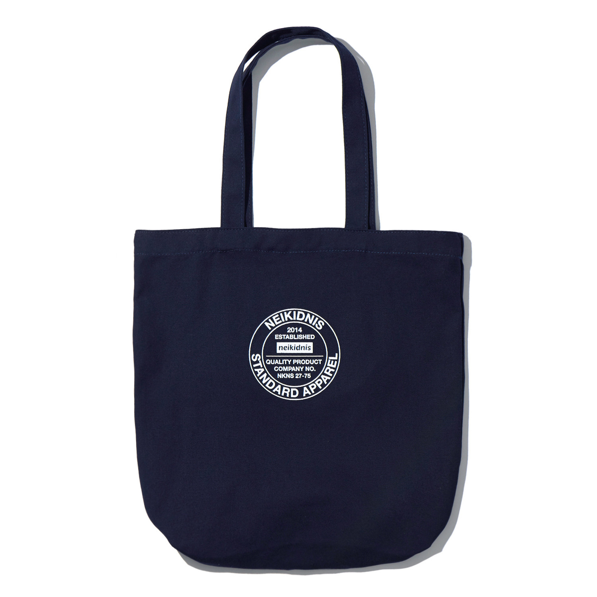COTTON ECO BAG / NAVY