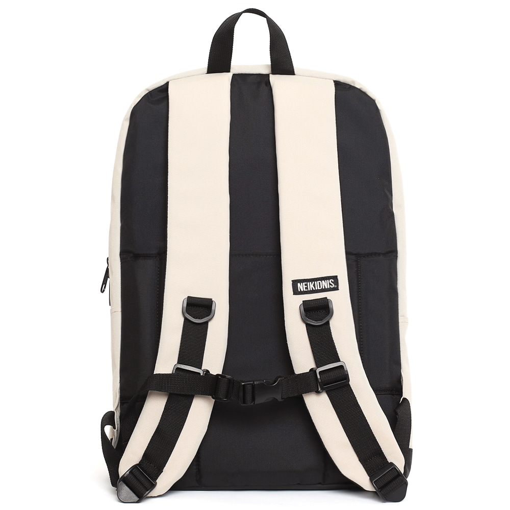 MESH SQUARE BACKPACK / LIGHT BEIGE