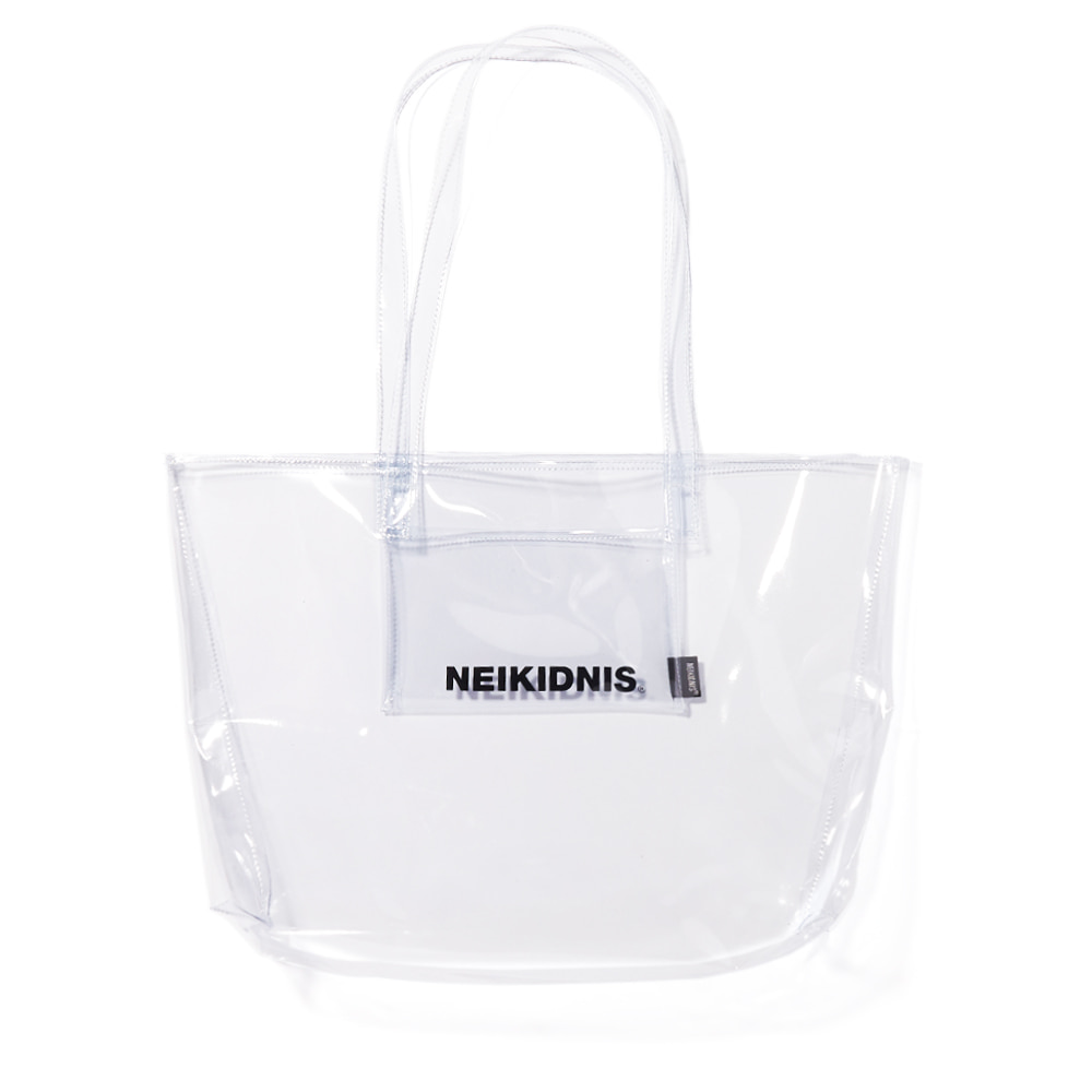 PVC SHOPPER BAG / CLEAR