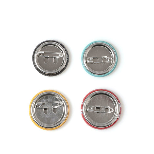 LOGO BUTTON BADGE SET (4PCS)