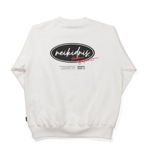 [기모] BOLD LOGO SWEAT SHIRT / IVORY