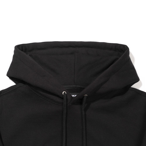 [기모] INTERNATIONAL HOODIE / BLACK