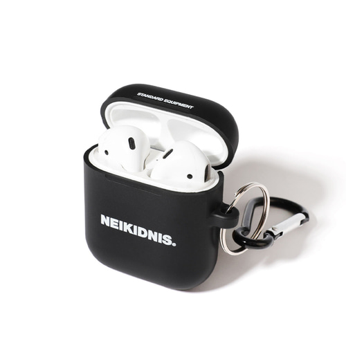 AIRPOD CASE & KEY RING SET / BLACK