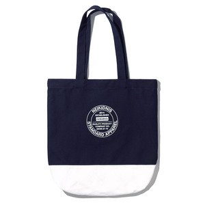 COTTON ECO BAG / NAVY-WHITE