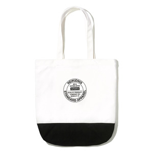 COTTON ECO BAG / WHITE-BLACK