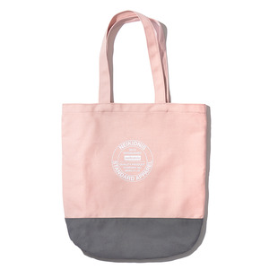 COTTON ECO BAG / INDI PINK-GRAY