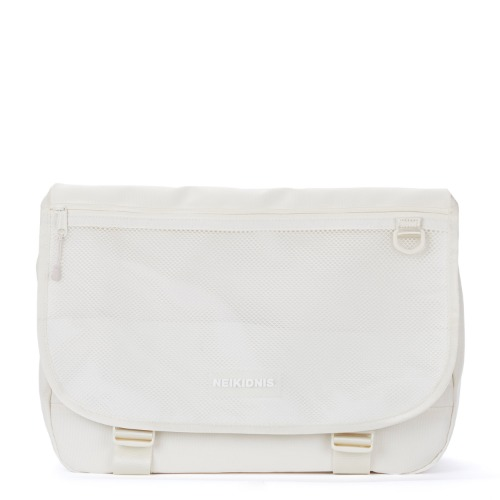 WIDE VISION MESSENGER BAG / IVORY