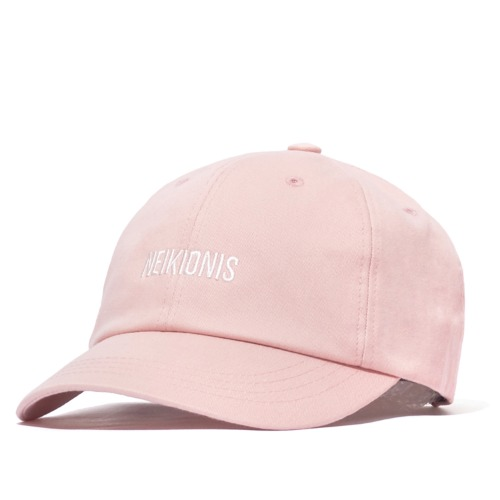 LOGO COTTON BALL CAP / PINK