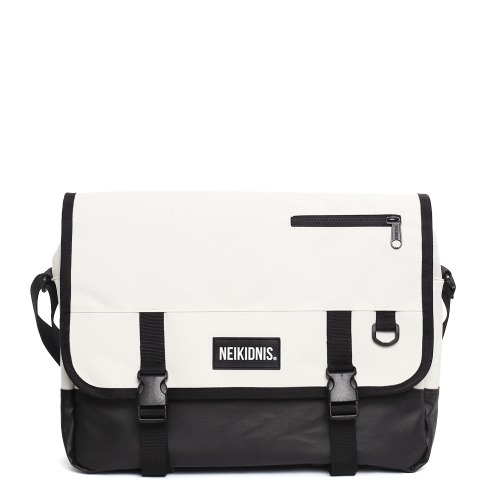 ICON MESSENGER BAG / IVORY