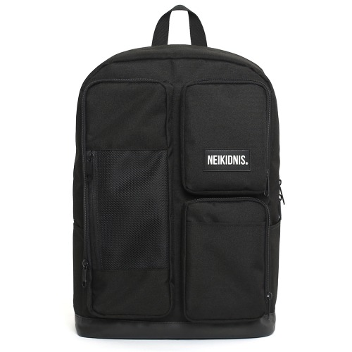 MESH SQUARE BACKPACK / BLACK
