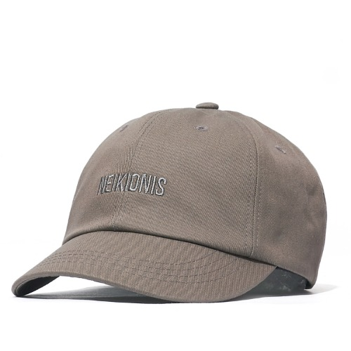 LOGO COTTON BALL CAP / PIGSKIN