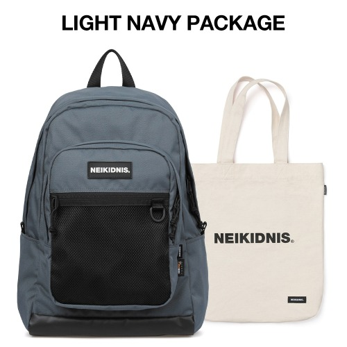 [집콕러 패키지] ACADEMY BACKPACK / LIGHT NAVY