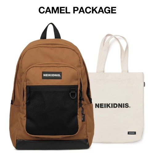 [집콕러 패키지] ACADEMY BACKPACK / CAMEL
