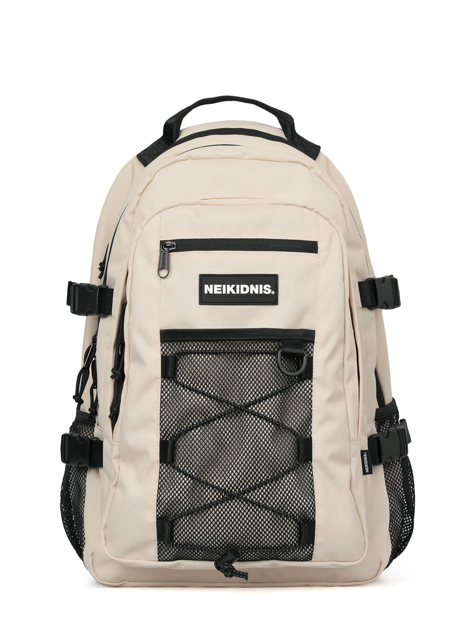 MESH STRING BACKPACK / LIGHT BEIGE