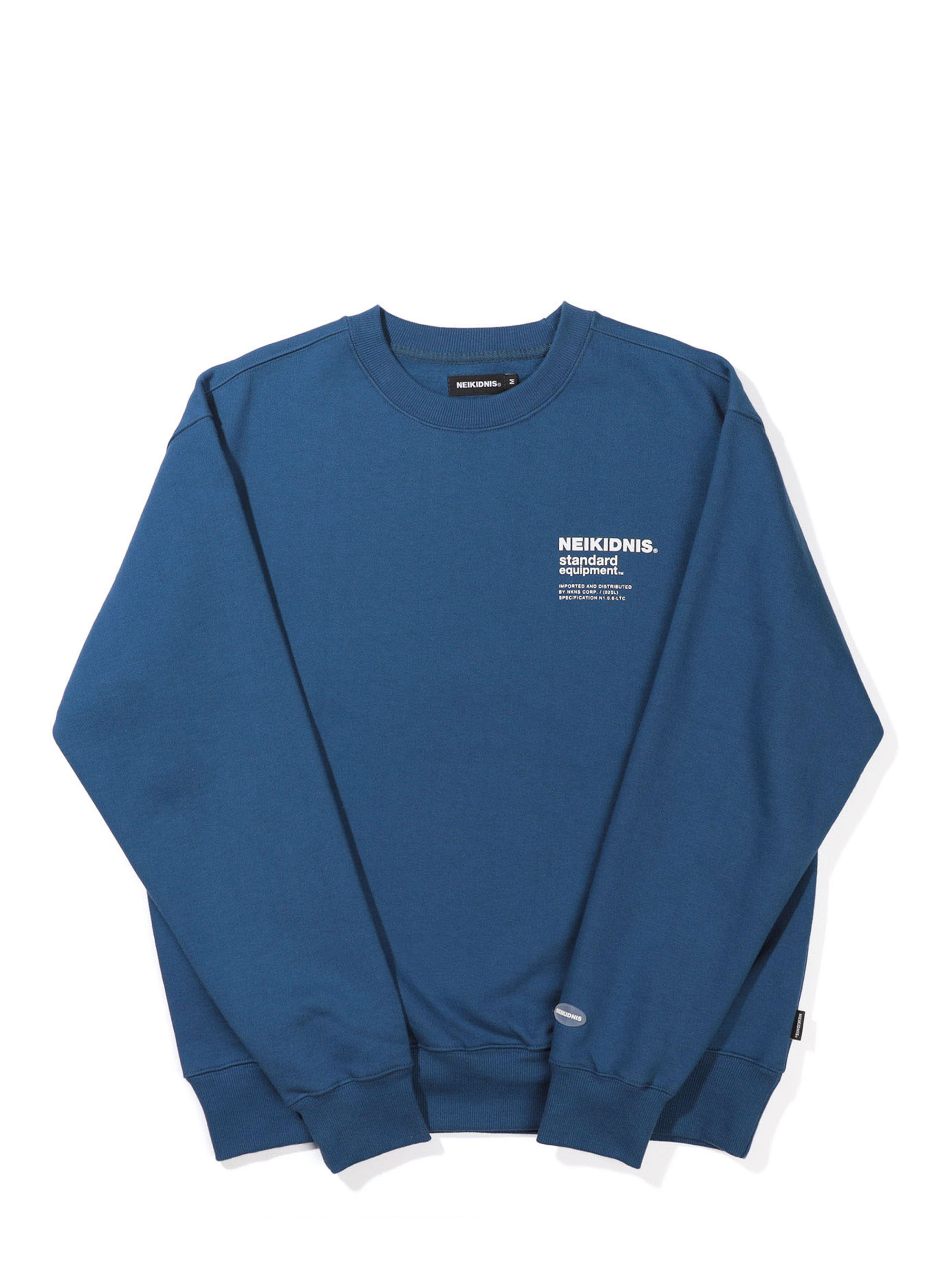 SPEC LOGO SWEAT SHIRT / INDIGO